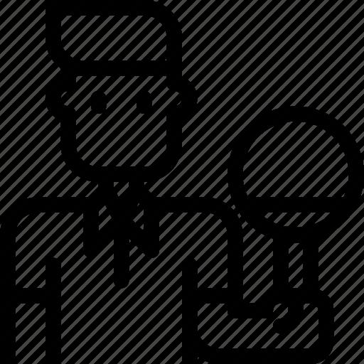 avatar, ball, pingpong, sport, sports, table, tennis icon