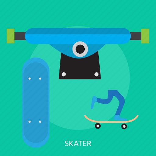 footwear, fun, leisure, shoe, skate, sport icon