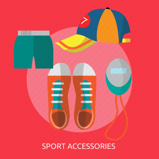 accessories, equipment, sport, sport accessories, sportswear icon