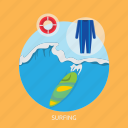 beach, ocean, shore, sport, surf, surfing icon