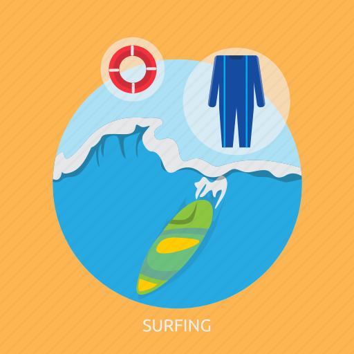 beach, ocean, shore, sport, surf, surfing icon