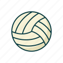 ball, sport, volley icon