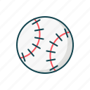 ball, baseball, game, play, sport