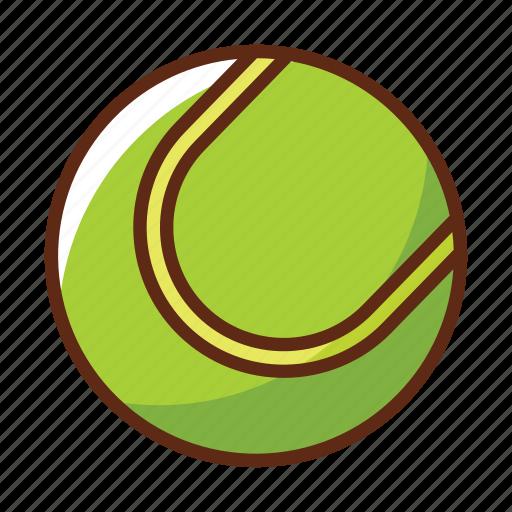 ball, green, sport, sports, tennis icon