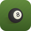 ball, billiard, sport icon