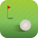 ball, country, country club, golf, sport icon