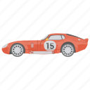 car, racing car, sports car, transport, vehicle icon