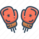 boxing, boxing gloves, fight, gloves, protection, punch icon