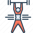 exercise, fitness, lifting, weight, weight lifting, workout, yoga icon