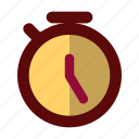clock, sport, stopwatch, time, timer, watch icon