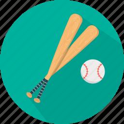 ball, baseball, equipment, game, play, player, sport icon