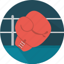 boxing, gloves, boxing ring, sport, equipment