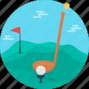 game, ball, golf, golf club, play, sport, equipment
