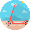 road, roller, scooter, sport, transport, transportation, vehicle icon
