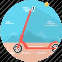 road, roller, scooter, sport, transport, transportation, vehicle icon