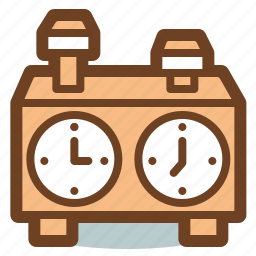 chess, game, sport, stopwatch icon