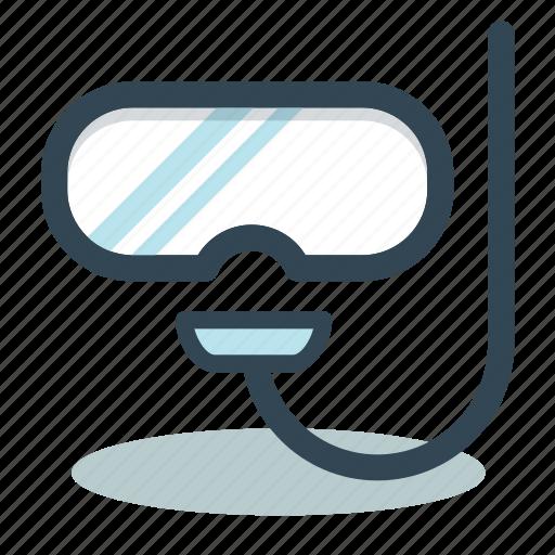 Diving, diving scuba, mask, snorkel mask, sport icon - Download on Iconfinder