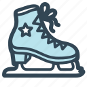 ice, ring, skates, sport
