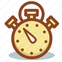 measure, speed, sport, stopwatch, timepiece, timer icon