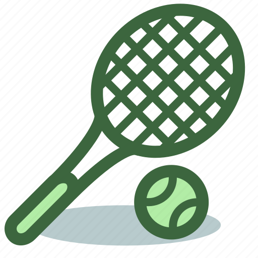 Ball, game, racket, sport, tennis icon - Download on Iconfinder