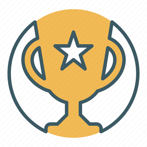 achievement, award, champion, prize, trophy, victory, winner icon