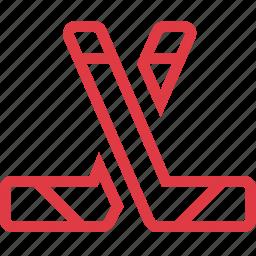 bandy, game, hockey, hockey stick, nhl, sport icon