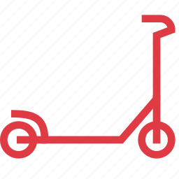active, bike, kids, ride, scooter, sport, transport icon