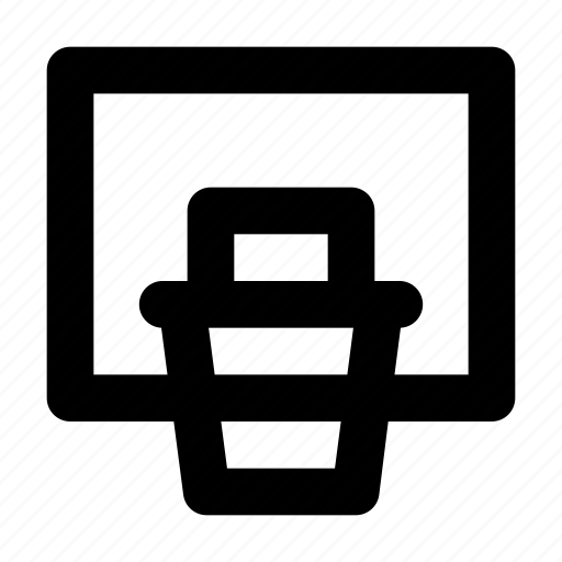 Bag, basket, basket ball, drible, ring icon - Download on Iconfinder