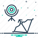 archer, archery, concentration, crossbow, final, sport, target
