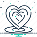 heart, love, romance, romantic icon