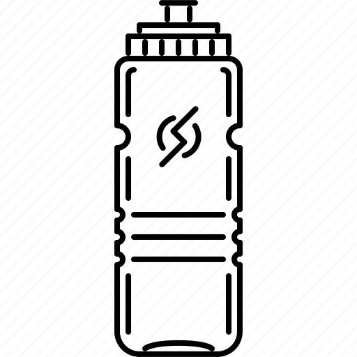 bottle, fitness, gym, sport, training, water icon