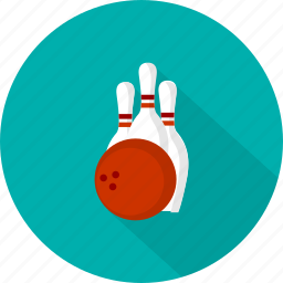 bowling, game, skittles, sport icon