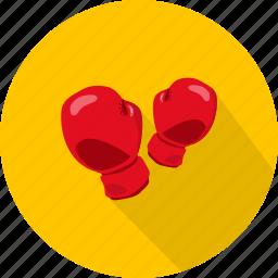 boxing, glove, sport icon