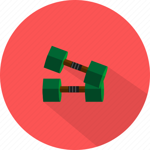 burble, sport, weightlift icon