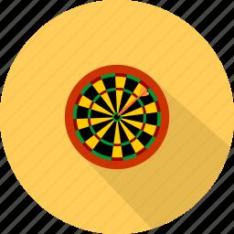 dart, game, sport, target icon