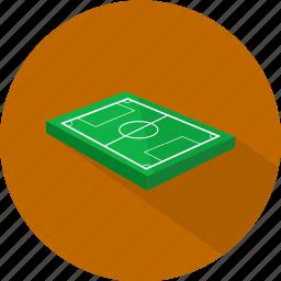 field, football, soccer, sport icon