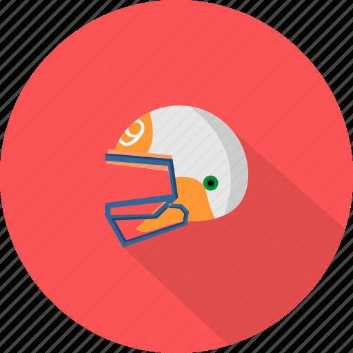 helmet, protection, sport icon