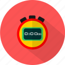 chronometer, clock, sport, stopwatch icon