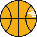 ball, basket, fun, game, sport icon