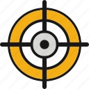 goal, shooting, sport, target, training icon