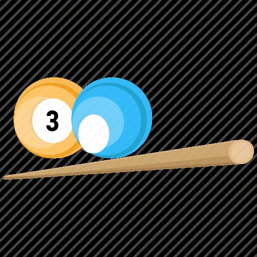 ball, billiard, sport icon