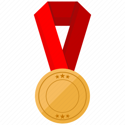 fitness, medal, prize, sports icon
