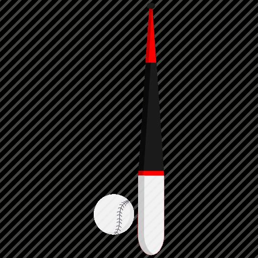 baseball, bat, sport icon