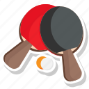 ball, palette, team, tenis icon
