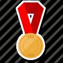 fitness, medal, prize, sports