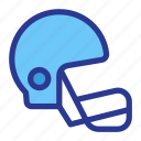 athlete, athletics, game, helm, helmet, sports icon