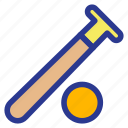 athlete, athletics, baseball, game, sports, stick icon