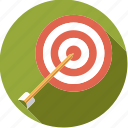 archery, arrow, sportix, sports, target icon