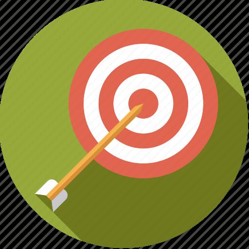 archery, arrow, sportix, sports, target icon