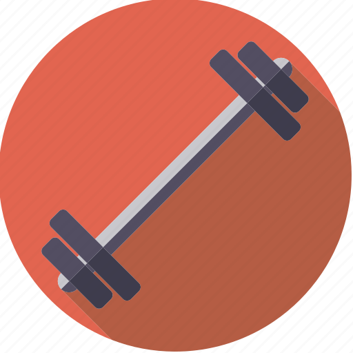 barbell, equipment, exercise, sportix, sports, weight, weightlifting icon